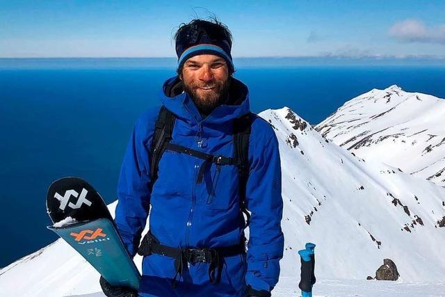 Der Todtnauer Tim Fritz genießt nach der Skikarriere die Freiheit der Berge