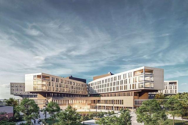 Bauzeit des Lörracher Zentralklinikums soll sich um fünf Monate verkürzen
