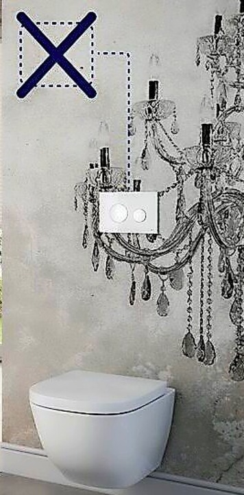 Ebenso ästhetisch wie praktisch:  die neuen WC-Betätigungsplatten  | Foto: Tece-TECEprofil (VDS)