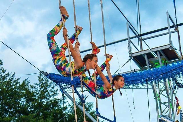Der Ettenheimer Circus Paletti probt wieder