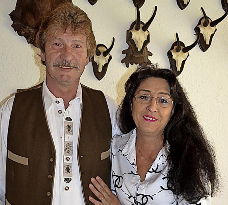 Reinhold Schmitt und Doris Safran  | Foto: Liane Schilling