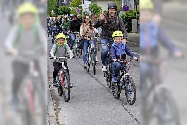 Fahrrad-Demo am Samstag in Bad Krozingen