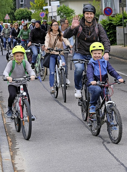 Die erste Fahrrad-Demo fand 2019 statt.    Foto: Hans-Peter Müller