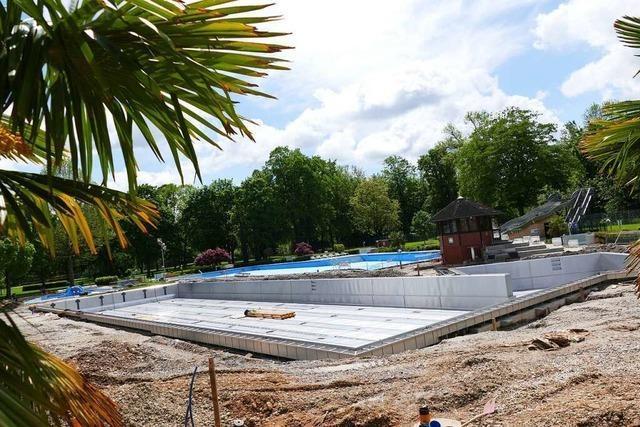 Waldschwimmbad Breisach öffnet voraussichtlich Ende Juni