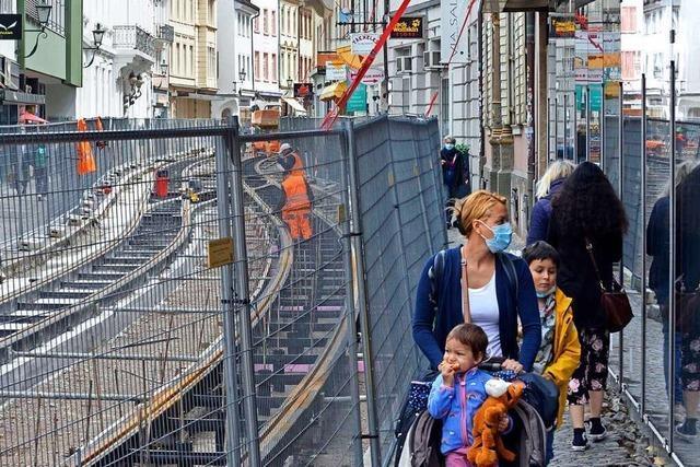 Baustelle macht den Läden an der Salzstraße zu schaffen