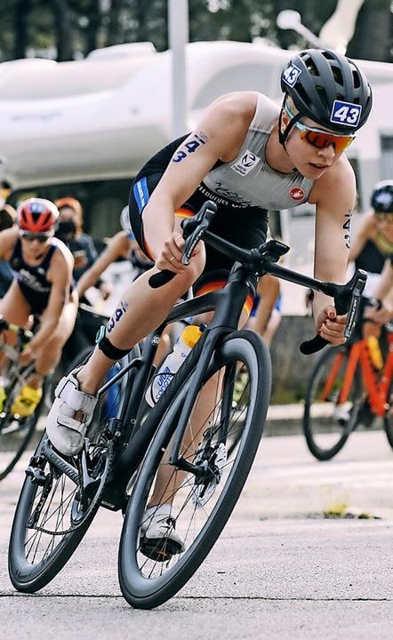 In Caorle als 41. von Rad- auf die Laufstrecke: Möller, TSch Langenau  | Foto: Natascia Torres