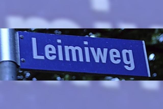 Ob Leimiweg komplett geteert wird, bleibt offen
