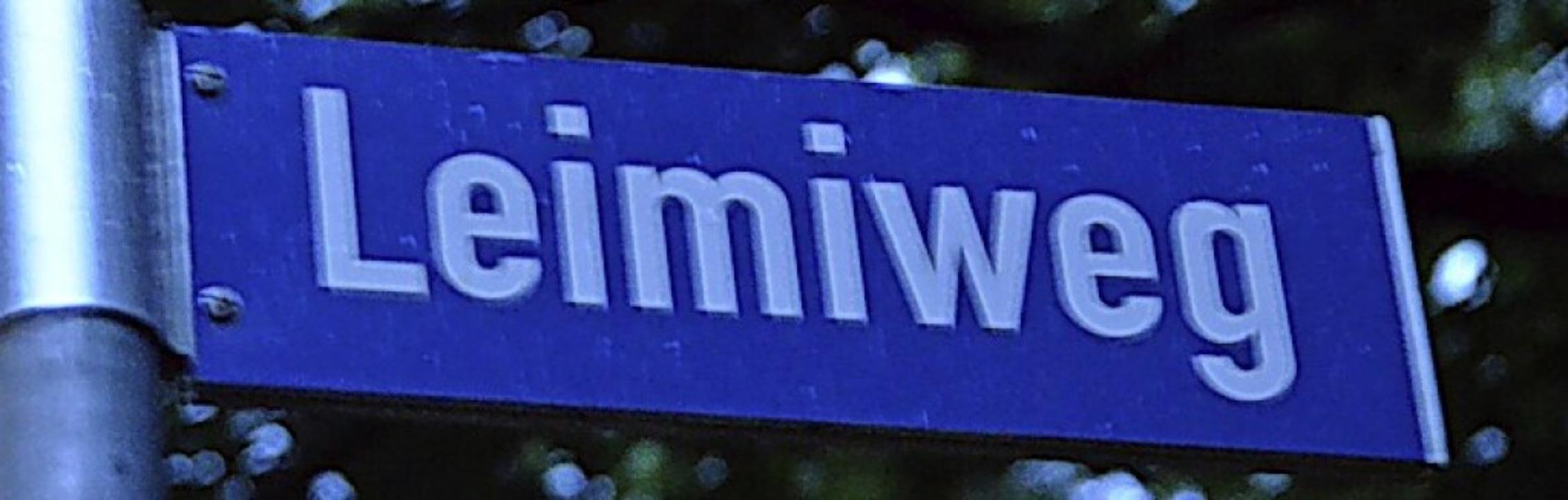 Ewiger Streitpunkt: der Leimiweg    Foto: Tanja Bury
