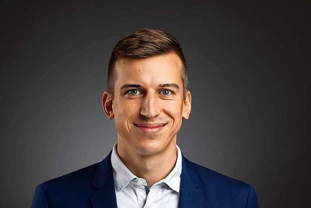 Tim-Niklas Hockenjos (26) wird neuer Chef des Offenburger Freizeitbades