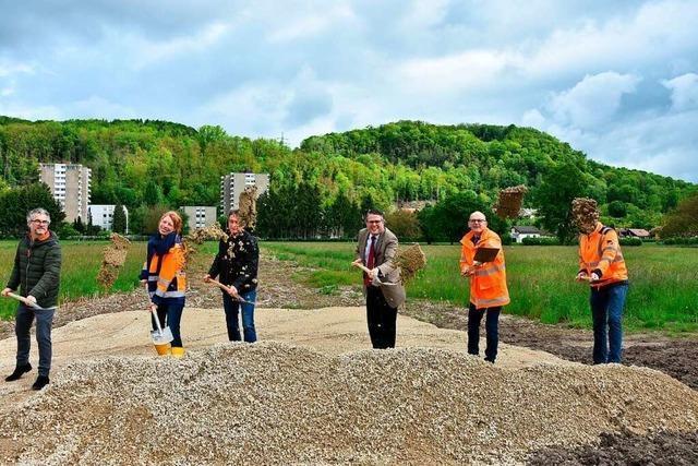 Startschuss für das Baugebiet Kapellenbach-Ost in Grenzach-Wyhlen