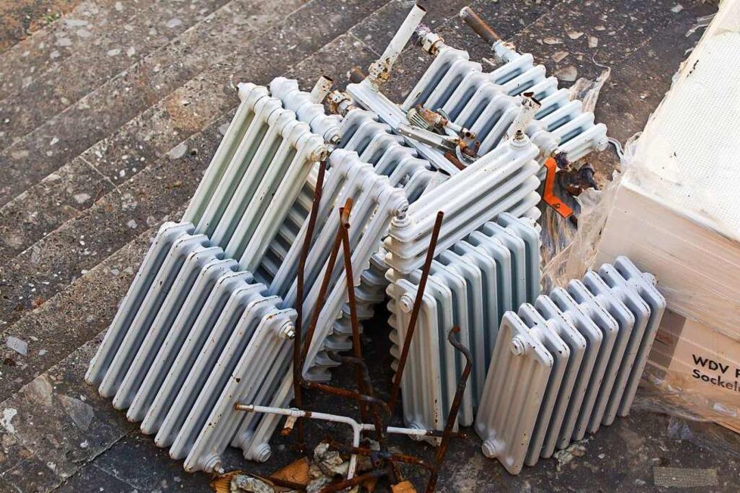 In älteren Gebäuden müssen ohnehin bal... zentrale Wärmeversorgung umzusteigen?  | Foto: Daniel Karmann