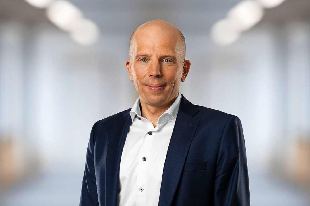 Der neue Technologie Vorstand Niels Syassen   | Foto: Dschafar El Kassem,SICK AG | Dschafar El Kassem