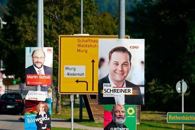 Gegen die wilde Plakatierung in Laufenburg