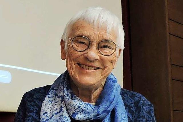 Rührig, witzig und ehrlich: Ev Ganter ist im Alter von 90 Jahren verstorben
