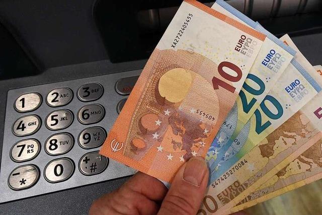 Polizei nimmt Verdächtigen nach Bankeinbruch in Hartheim fest