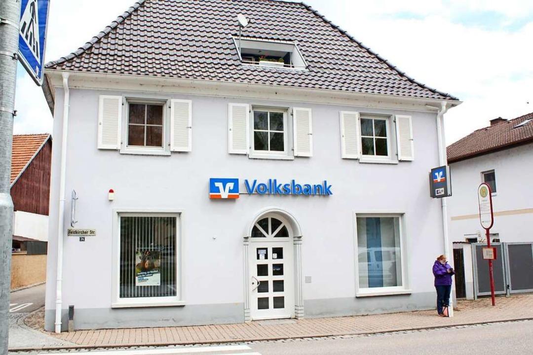 Die Volksbank in Hartheim  | Foto: Otmar Faller