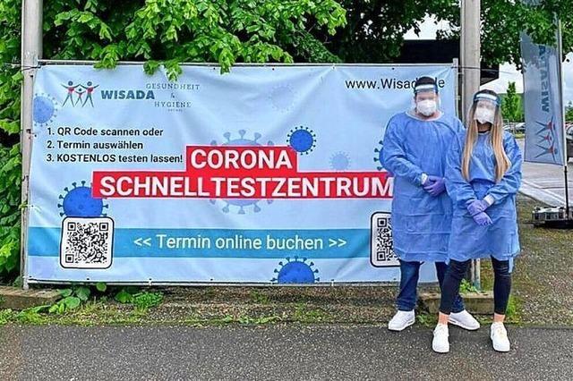 Corona-Testzentrum als Einstieg zur Markterschließung