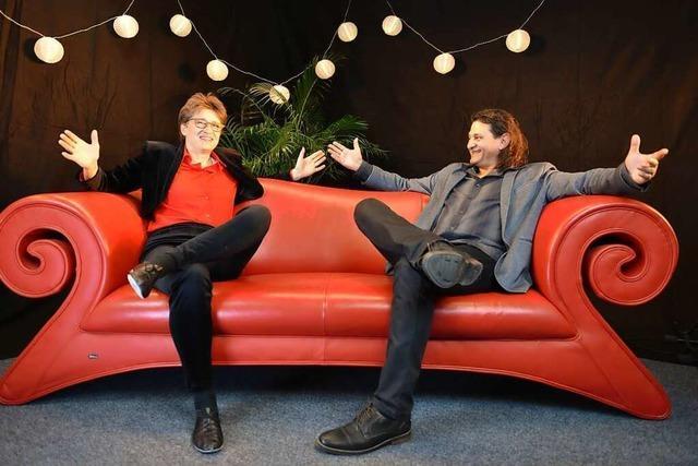 Vörstetter Künstlerin gibt am Samstag ein Sofa-Konzert