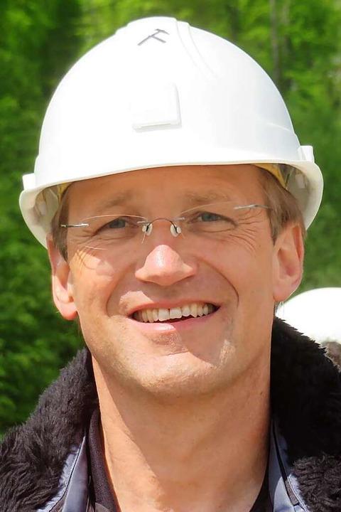 Projektleiter Udo Gütle    Foto: Peter Gerigk