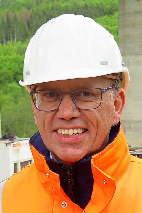 Gerald Schmidt, Leiter der Autobahn GmbH, Niederlassung Südwest    Foto: Peter Gerigk