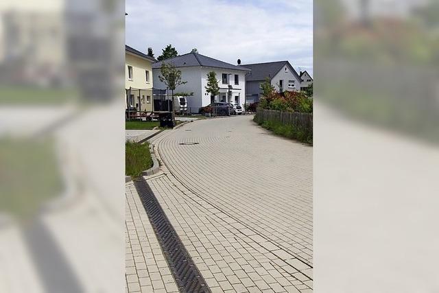Die Wiesenstraße wird verkehrsberuhigt