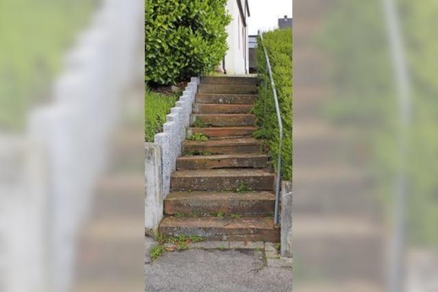 Spezialmörtel für Bordsteine und Treppe