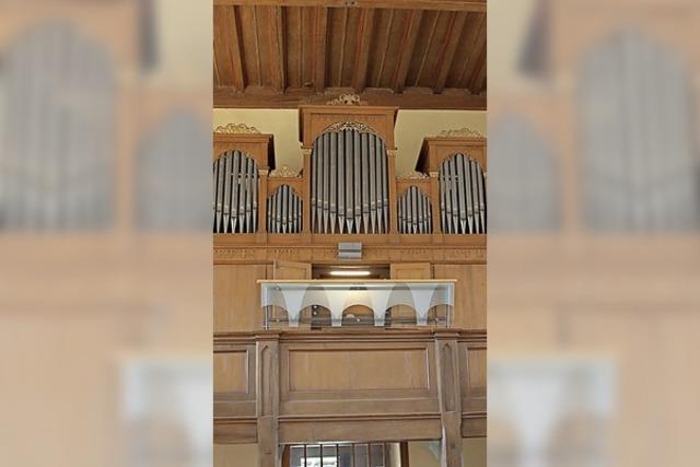Bund zahlt 40 000 Euro für Orgelreparatur