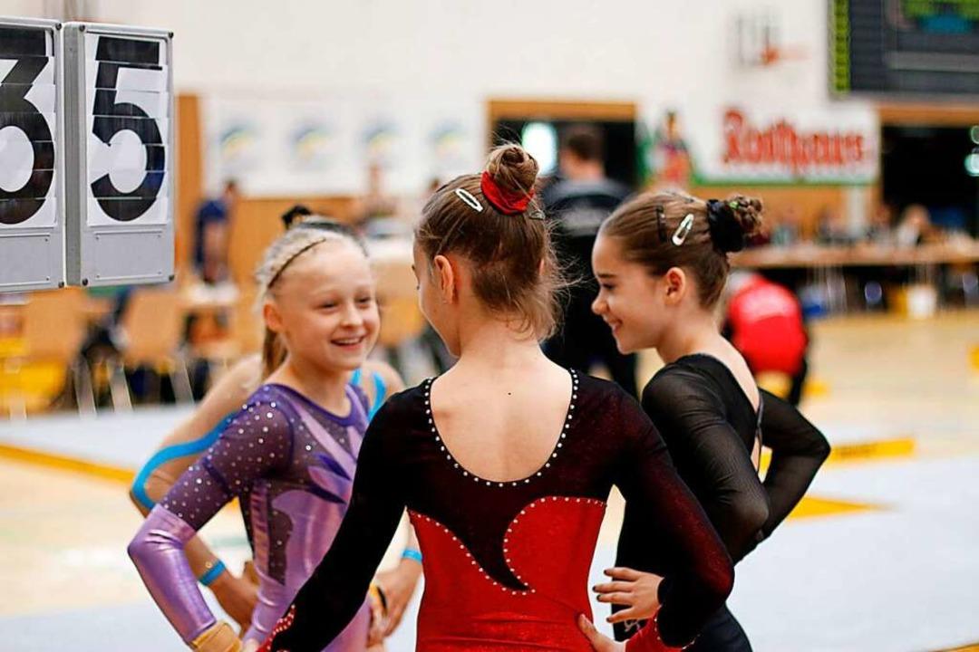 Bei Turnfesten machen besonders viele Mädchen und Frauen mit.  | Foto: Linn-Marie Hahn