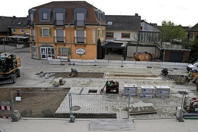 Die Sanierung der Ruster Ortsmitte ist abgeschlossen