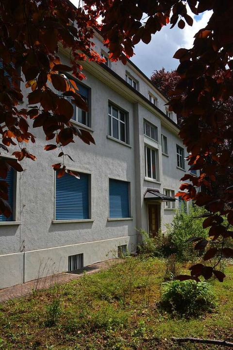 Bleibt stehen: Verwaltungsgebäude der Lofo    Foto: Hannes Lauber