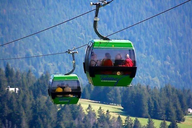 Feldbergbahn eröffnet am Freitag den Sommerbetrieb
