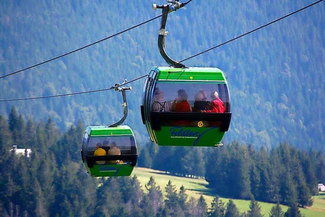 Die Sommersaison 2021 der Feldbergbahn startet am Freitag, 21. Mai.  | Foto: www.gerhardkassner.de