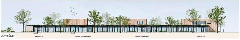 Die Studie von Moser Architekten sieht einen Verbindungsgang vor.  | Foto: Privat