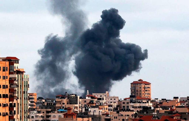 Der Konflikt hatte auf beiden Seiten zu zahlreichen Opfern geführt.    Foto: MAHMUD HAMS (AFP)