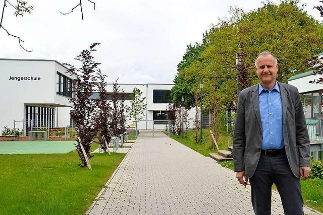 BZ-Ortsrundgang mit Thomas Breig, der Bürgermeister von Ehrenkirchen bleiben möchte