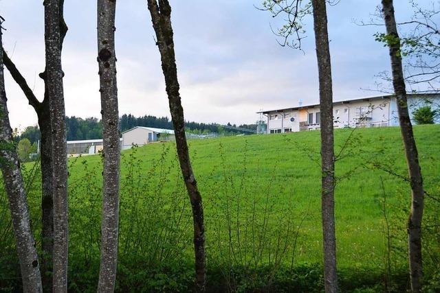 Das Gewerbegebiet Rißlersberg in Elzach wird erweitert