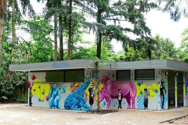 Nach zehn Jahren wieder offen: die Toiletten in der Joseph-Brandel-Anlage in Freiburg-Haslach