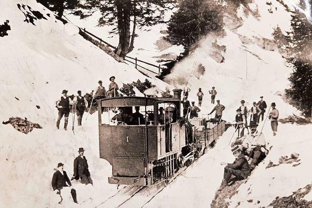 Feiern mit Stampfen und Dampfen: 150 Jahre Bergbahnen in Europa
