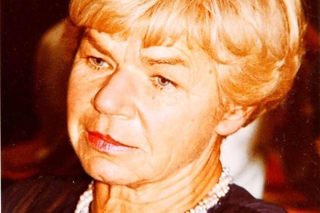 Ruth Weyland ist im Alter von 100 Jahren verstorben