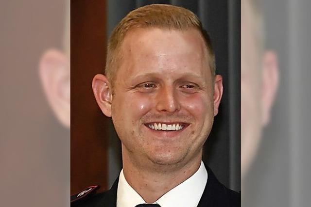 Kai Pfefferle ist Buggingens neuer Feuerwehr-Chef