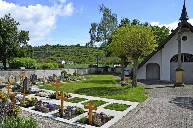 In Niederrimsingen soll es neue Urnengräber geben