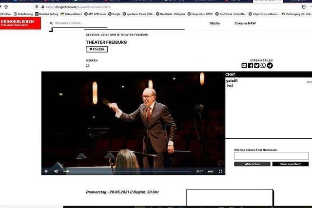 Sichtbare Lust: Freiburger Philharmonisches Konzert unter Gerhard Markson