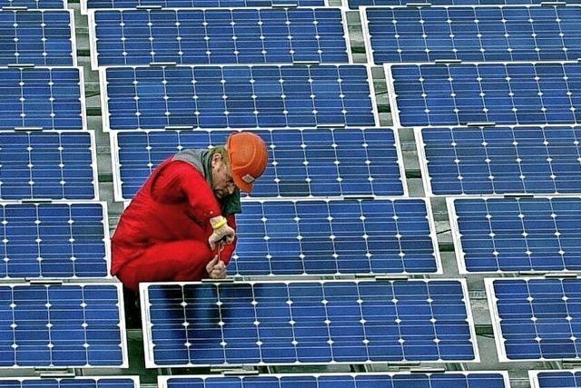 Photovoltaik auf der Kläranlage Murgtal