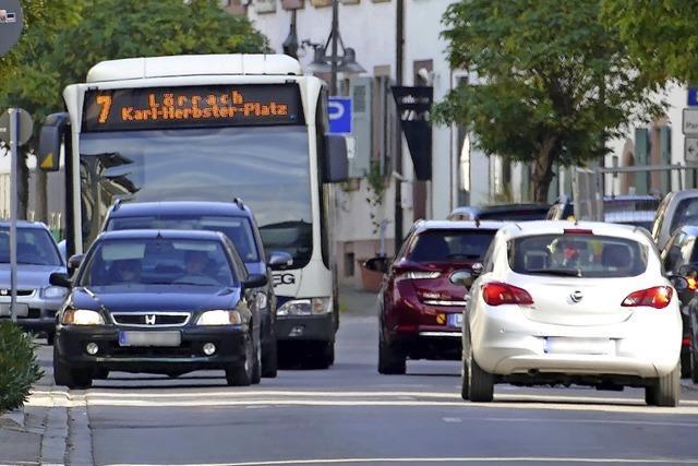 Der Stadtbusverkehr im Lörracher Süden wird neu geordnet