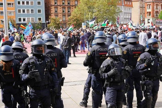 Innenminister Strobl warnt Demo-Teilnehmer vor antisemitischer Hetze