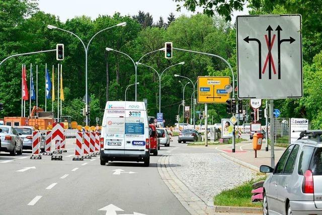 Polizei befürchtet Staus während der Öffnungszeiten der Freiburger Möbelhäuser