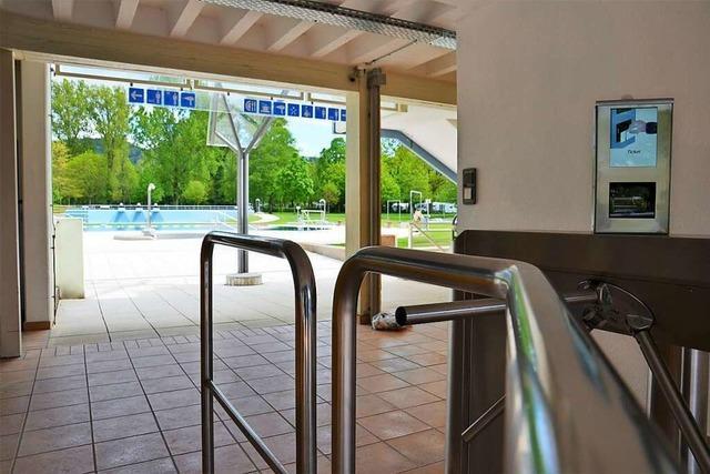 Dreisambad in Kirchzarten wird wohl noch in den Pfingstferien geöffnet