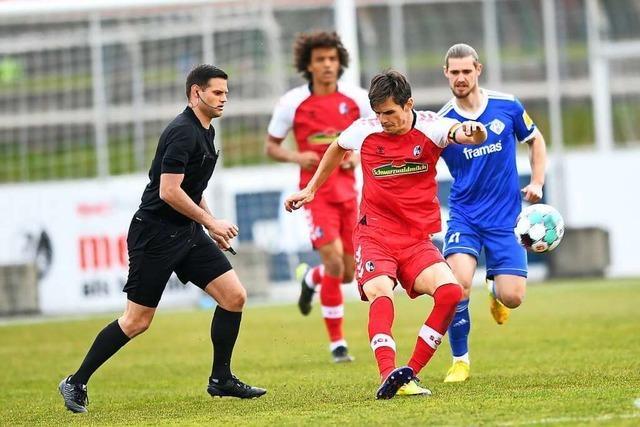 SC Freiburg II kann Abwehrriegel von Hessen Kassel nicht knacken