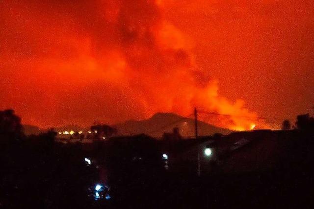 Millionenstadt Goma nach Vulkanausbruch von Lavastrom knapp verschont
