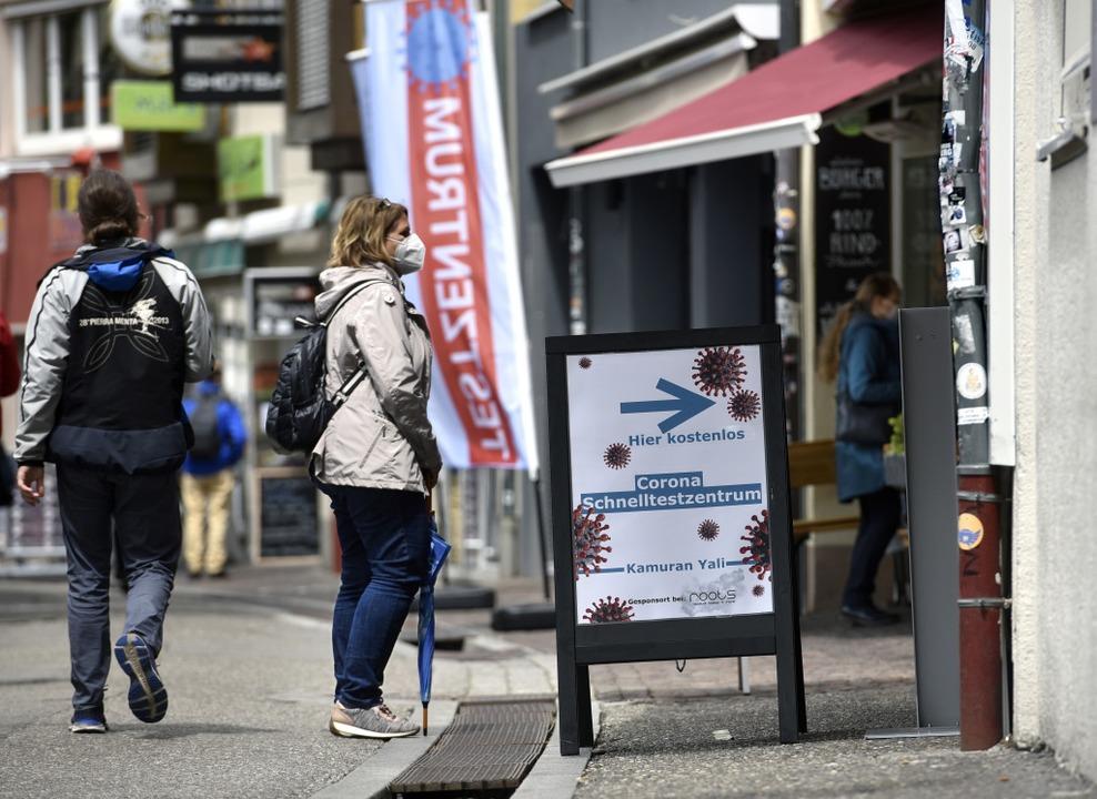 In Freiburg gelten nach dem Wochenende weitere Lockerungen  | Foto: Thomas Kunz